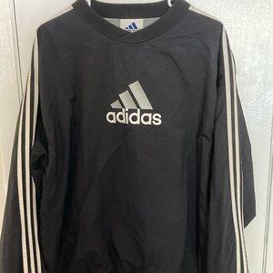 Vtg 90's Adidas Pullover Windbreaker Jacket